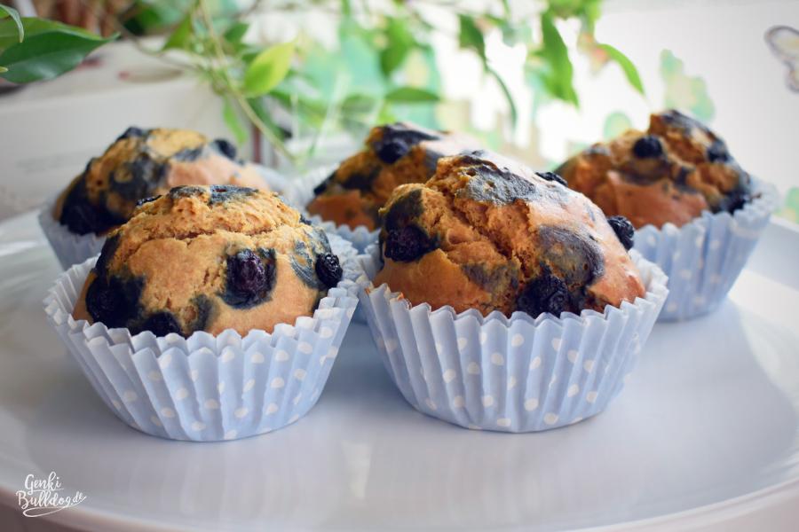Rezept Hundemuffins mit Blaubeeren selbst backen