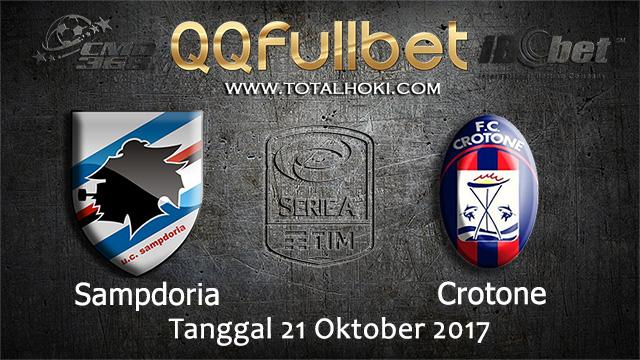 PREDIKSIBOLA - PREDIKSI TARUHAN BOLA SAMPDORIA VS CROTONE 21 OCTOBER 2017 (SERIE A)