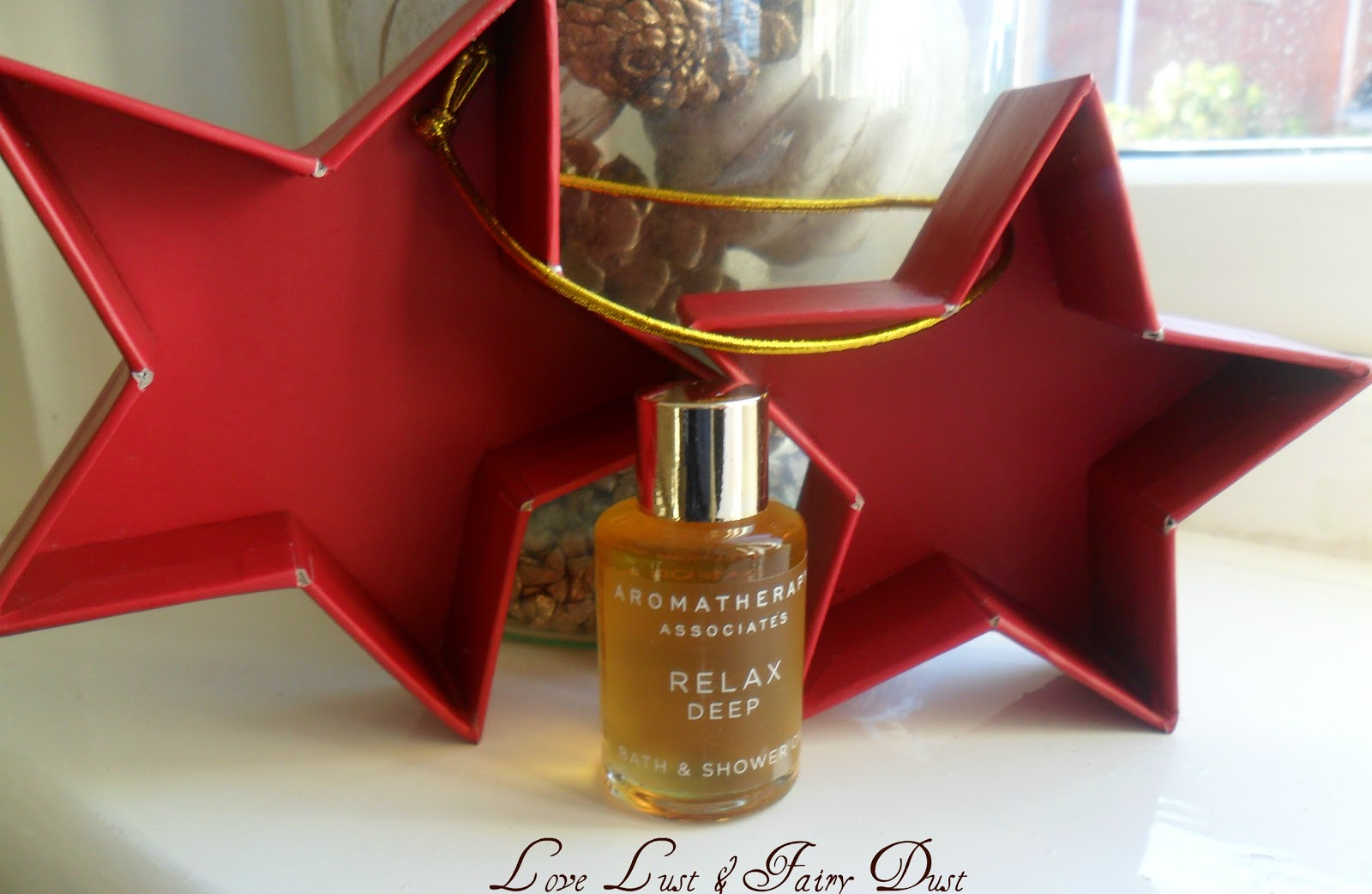 bath oil from aromatherapy associates