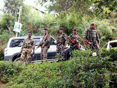 Central Armed Police Force (CAPF) deployed in Darjeeling