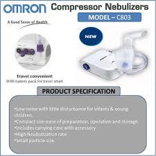 Gambar Alat Terapi Omron Nebulizer NE-C803