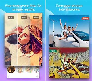 Filter Foto Untuk Paint - Mengubah Foto Menjadi Kartun