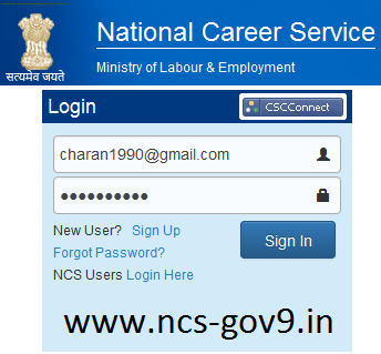 Gateway to National Career Service Login