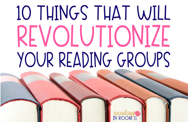 Are you looking for a way to invigorate your reading groups?  My day is made up of K-5 reading groups and I'm sharing 10 things that have revolutionized my reading groups.  These essentials keep our small group reading group on track, organized, and hassle-free.