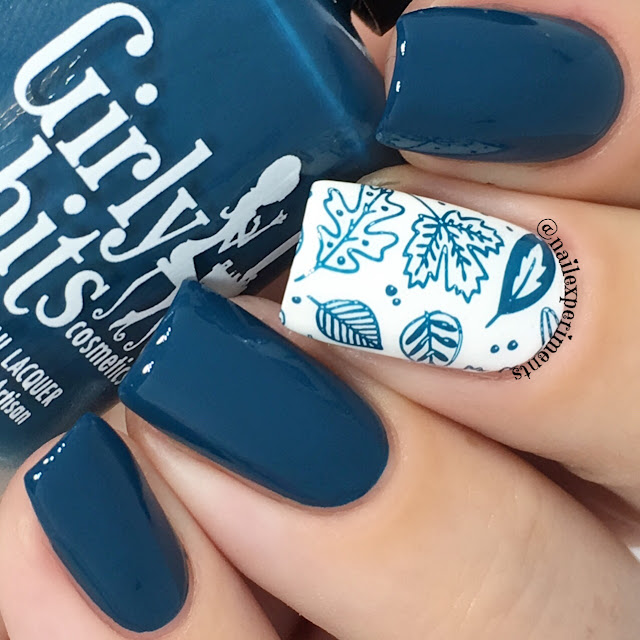 girly bits sea you next fall nail polish swatch
