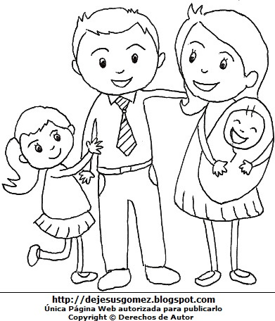 La Familia De Jesus Para Colorear Ensinanzaere