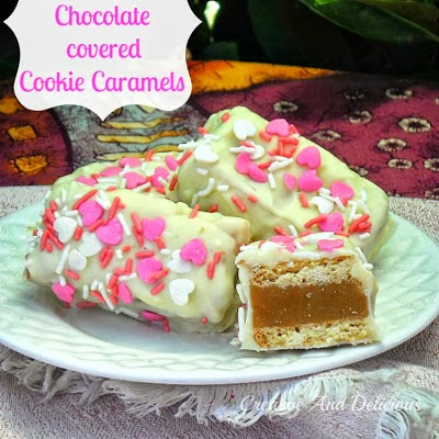 Chocolate Covered Cookie Caramels