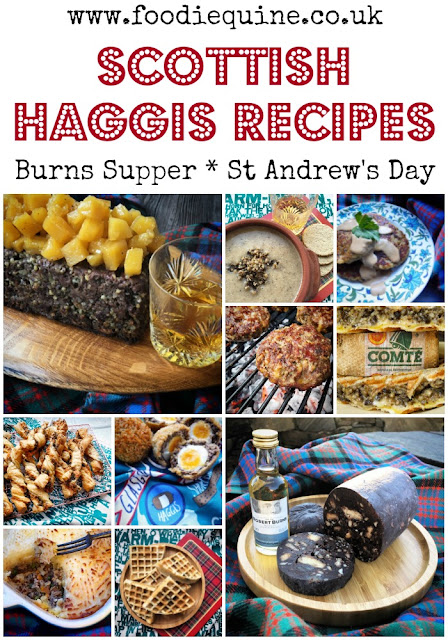 www.foodiequine.co.uk Fancy something a wee bit different than the traditional Haggis, Neeps and Tatties for your Burns Supper celebrations? I've got you covered with this selection of 10 recipes including Pancakes, Meatloaf, Burgers, Waffles, Birls, Shepherd's Pie, Soup, Scotch Eggs, Toasties and even Chocolate Haggis!