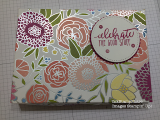 Box using Sweet Soiree Designer Series Papers