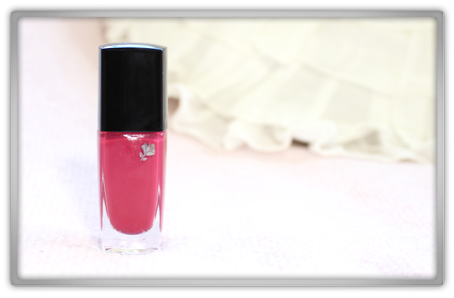 Lancôme Vernis in Love 368N Rose Lancôme Haul Review beauty blog blogger high end nail polish douglas western makeup