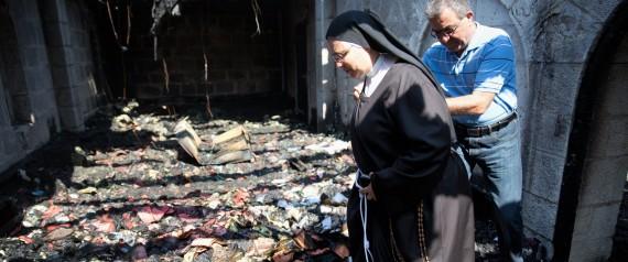 Ekstrimis Yahudi Bakar Gereja Katolik dan Menulis Grafiti 'Berhala Akan Dihancurkan'