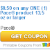 Pace® product coupon