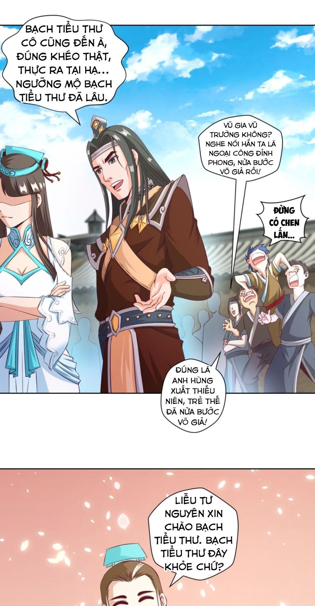 Chiếm Cái Đỉnh Núi Làm Đại Vương chap 17 - Trang 9
