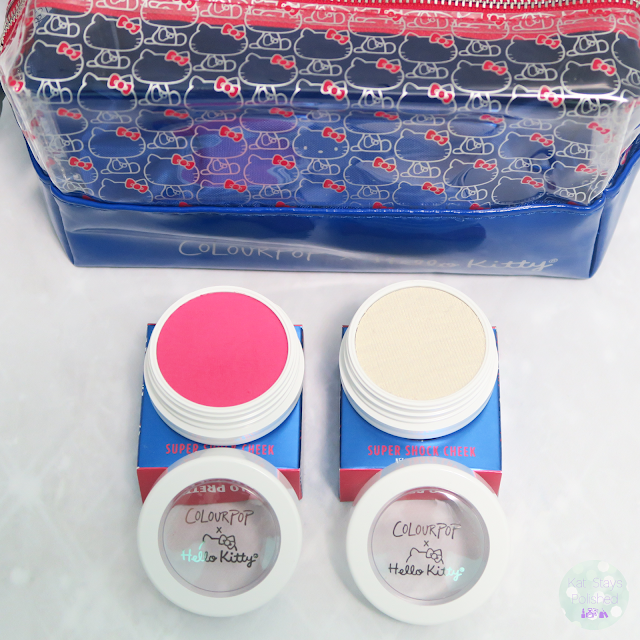 ColourPop x Hello Kitty - Blush and Highlighter | Kat Stays Polished