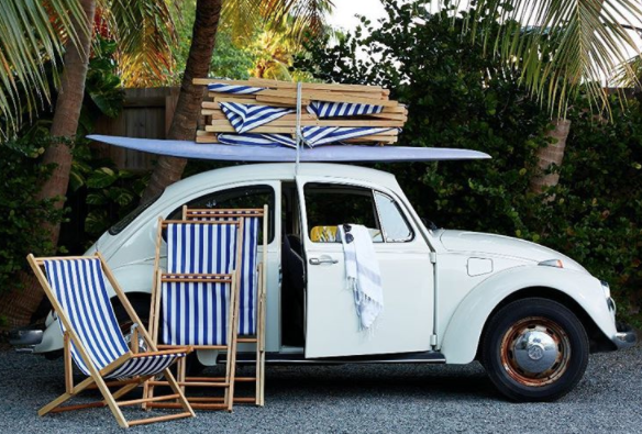 retro and Amalfi Coast glam, cabana stripes are a stylish summer classic.