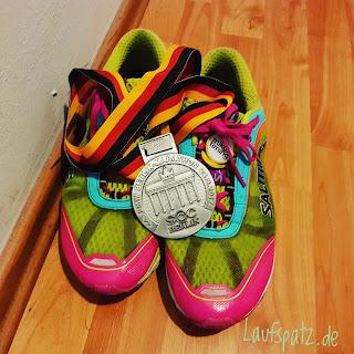 BMW Berlin Marathon 2017 Medaille