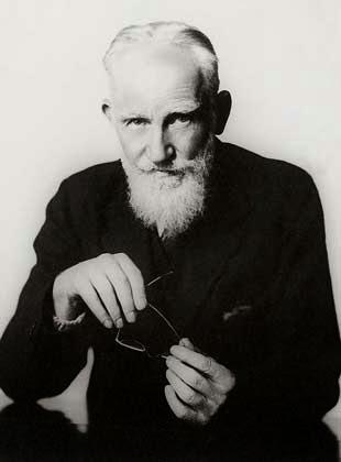 george bernard shaw as an idol