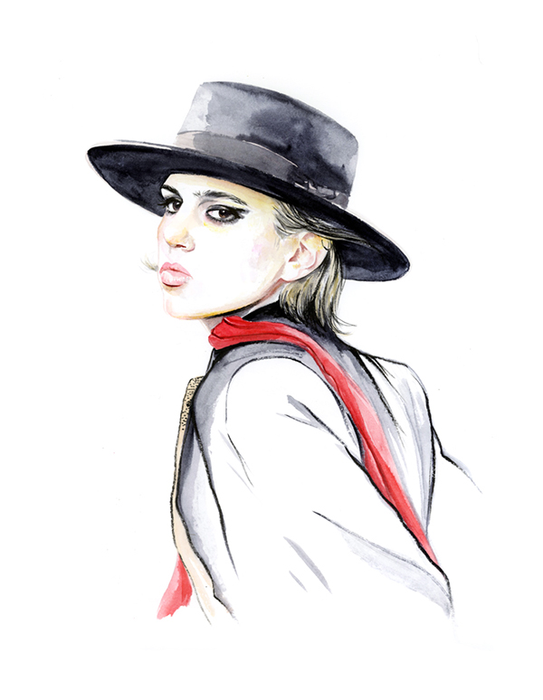 16-Caroline-Andrieu-Fashion-Shows-Distilled-into-Drawing-Portraits-www-designstack-co