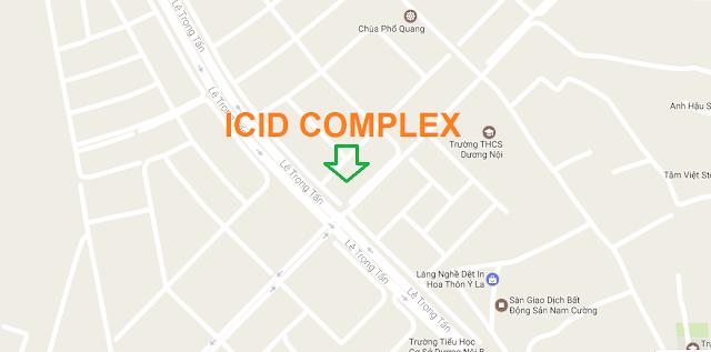 Vị trí đắc địa của dự án ICID Complex