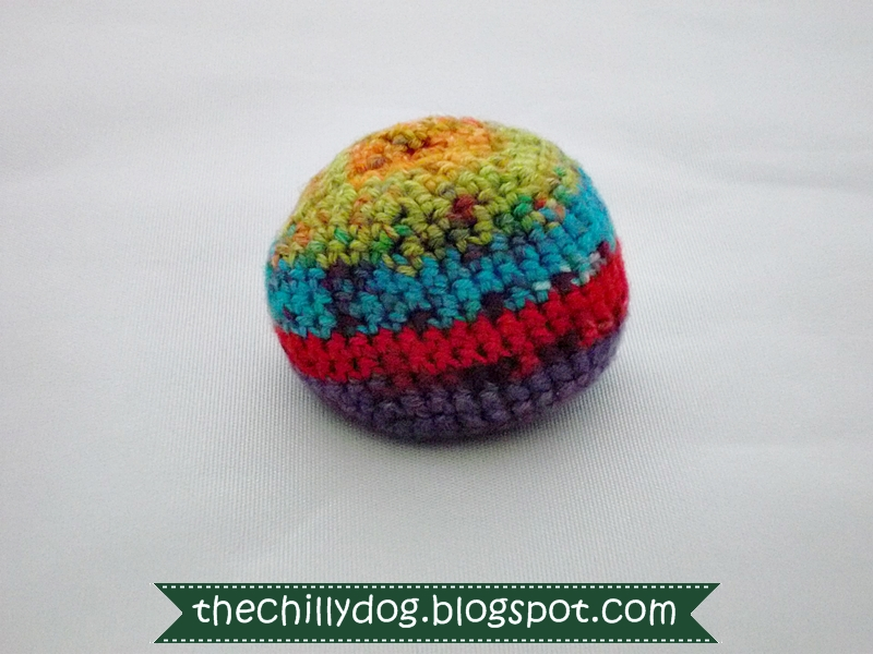 Attractive Hacky Sack Pattern Crochet Component - Blanket Knitting ...