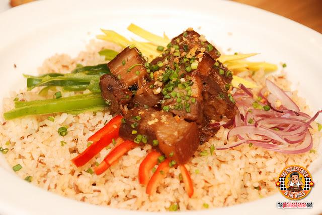 Humbinagoongan Rice Platter