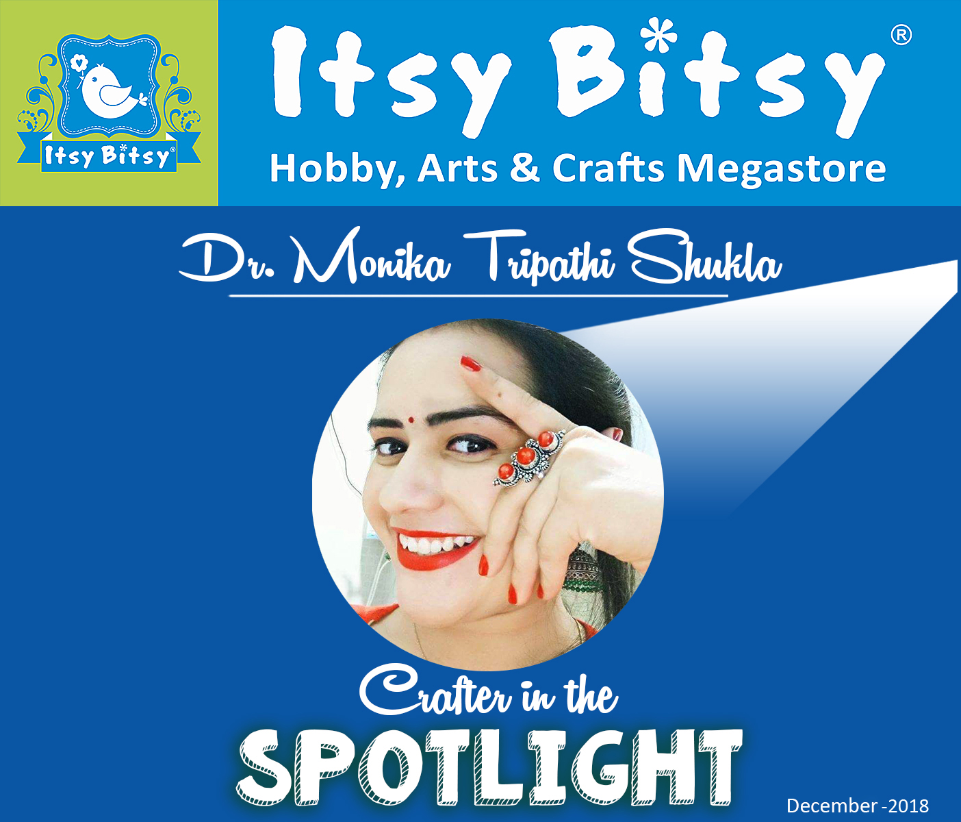 "Honoured to be ""Crafter in the Spotlight"""