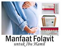 Manfaat Folavit 400 mg untuk Ibu Hamil dan Program Hamil