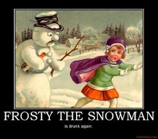 sexy snowman