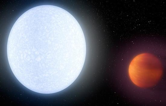 Laporan Penelitian Planet KELT-9b Mengorbit di Kutub Bintang KELT-9