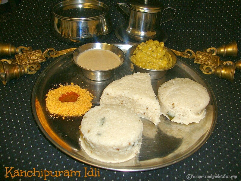 images for Kanchipuram Idli Recipe / Kanjeevaram Idli - Easy South Indian Breakfast