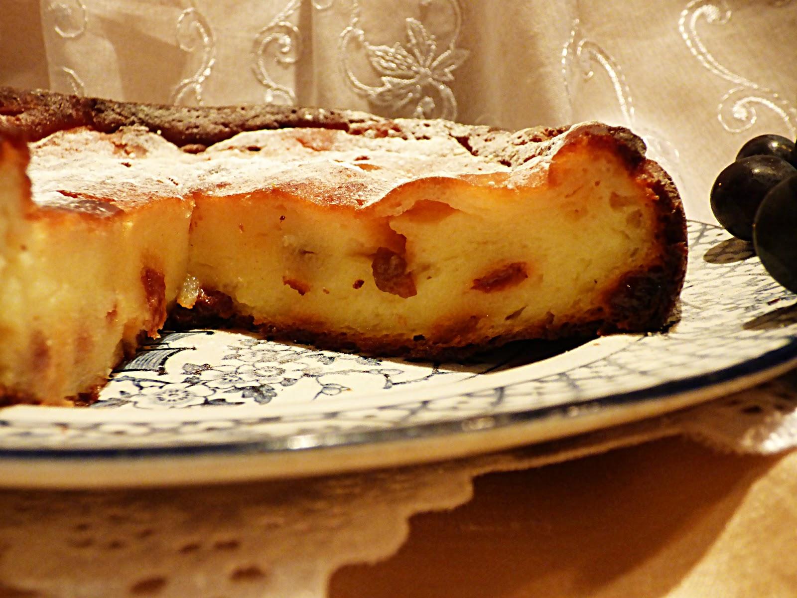 Chez Maximka: Ricotta cheesecake (torta di ricotta)