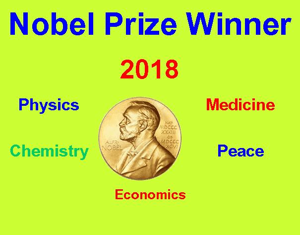 Nobel Prize Winners 2018