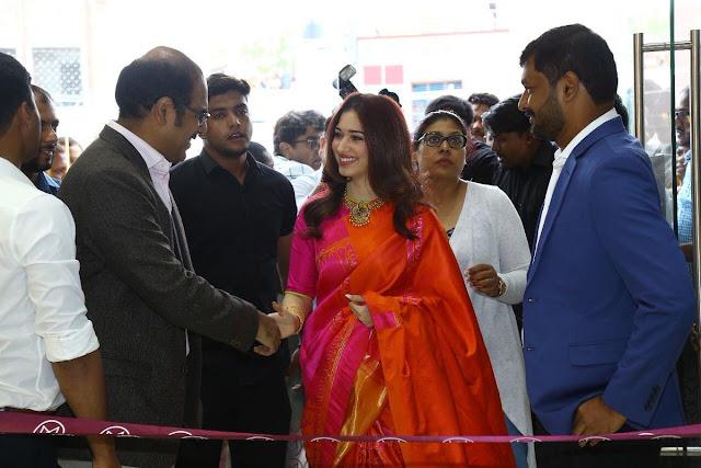 Tamanna at Malabar Gold Store Inauguration in Anantapur