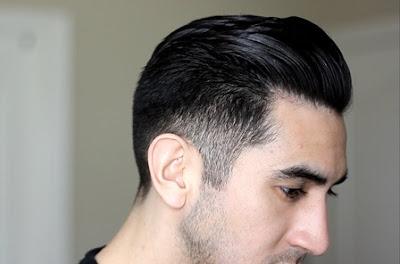 Rambut Side Pompadour