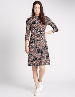 modelos de Vestidos con manga larga