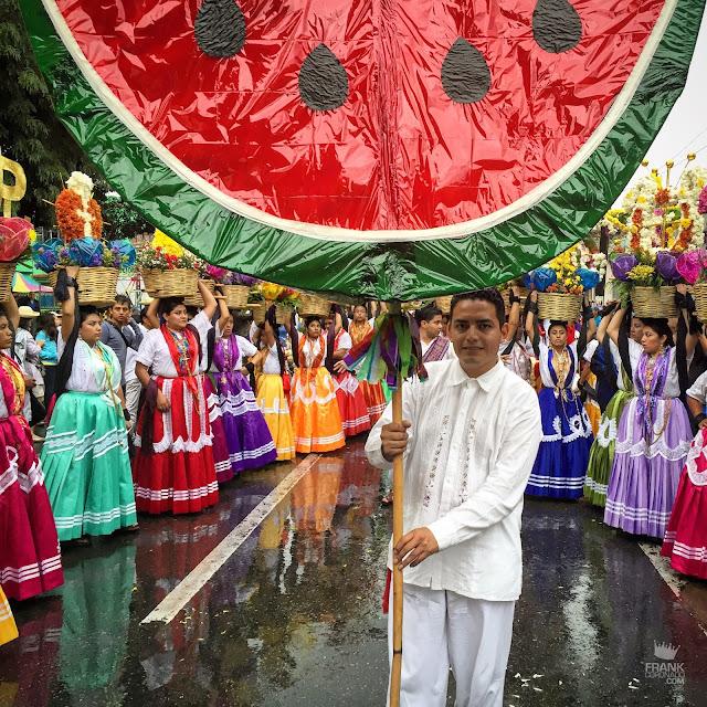 Farol en forma de sandia Oaxaca