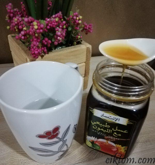 minum madu sarapan pagi