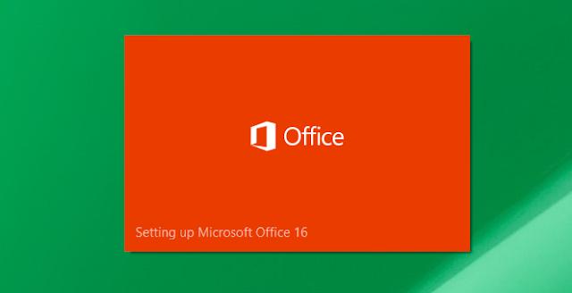 Cara Install Microsoft Office 2016 Terbaru Lengkap