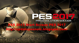 Download Start Screen PES 2017 For PES 2013