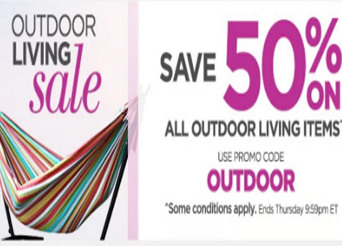 The Shopping Channel 50% Off Outdoor Living Items Promo Code