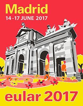 Congreso Europeo de Reumatología EULAR 2017. Del 14 al 17 de junio