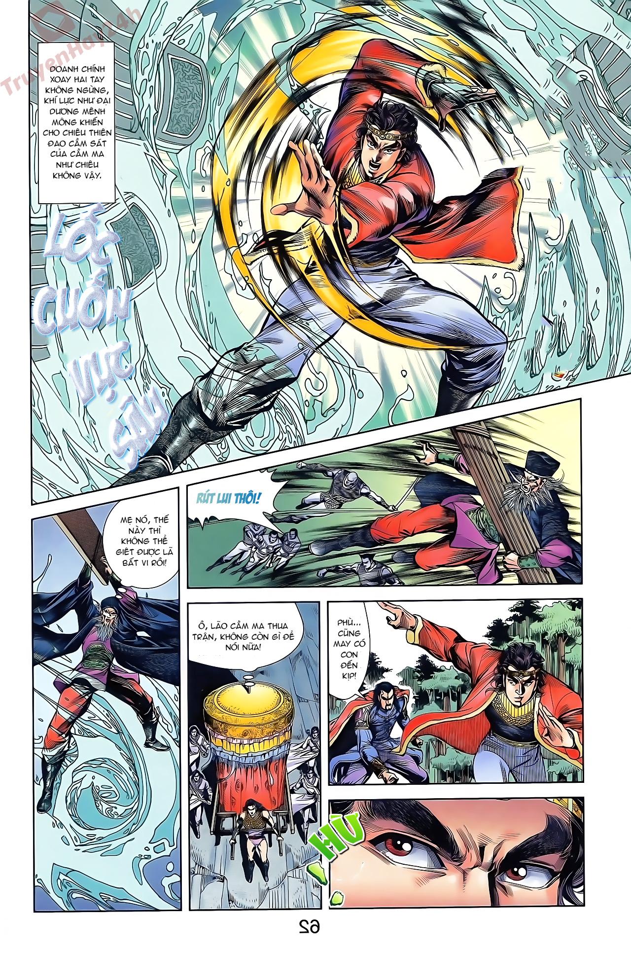 Tần Vương Doanh Chính chapter 46 trang 28