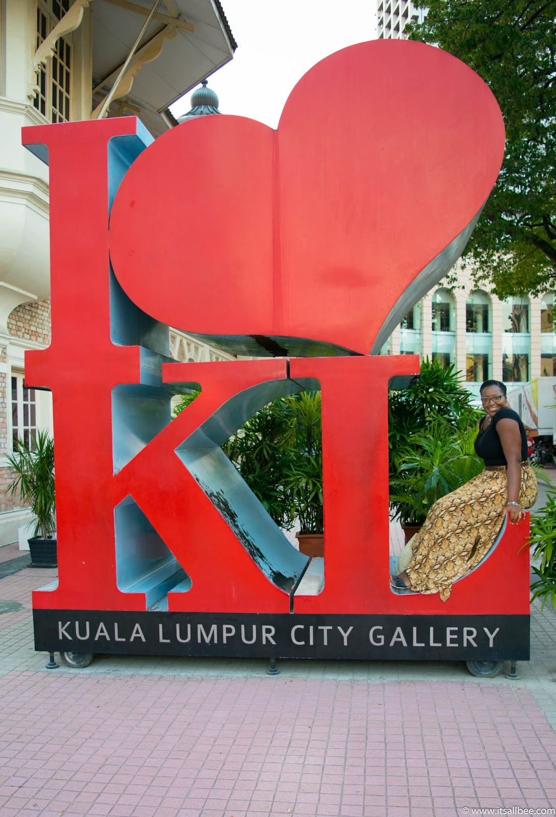 KL City Gallery I Love KL Statue