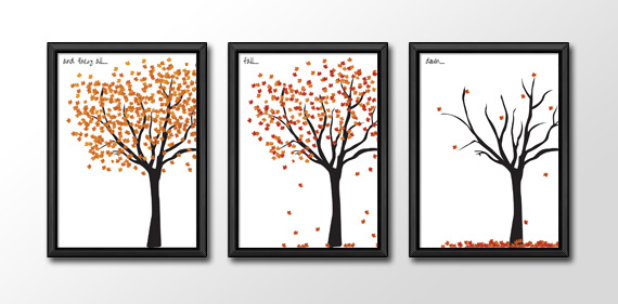 free fall printable leaves