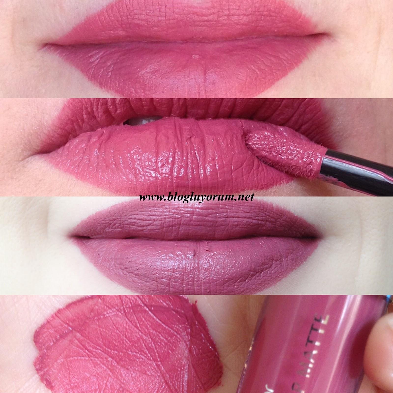 Flormar Extreme Color Lip Matte 03 Flashback Rujblogluyorum Gökçe