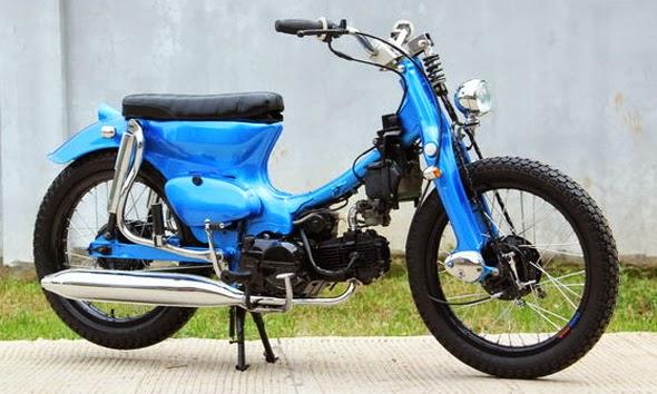 motor pitung modifikasi terpopuler
