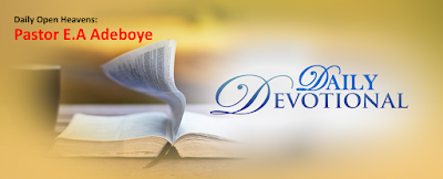 Open Heavens:The Blessing of Solitude 1 by Pastor E.A Adeboye