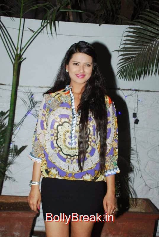 Kratika Sengar, Hot HD Pics Of Sapna Pabbi,Debina Bonnerjee, and Rakhi Sawant At Gurmeet Choudhary Celebrate Gurmeet Choudharys Birthday