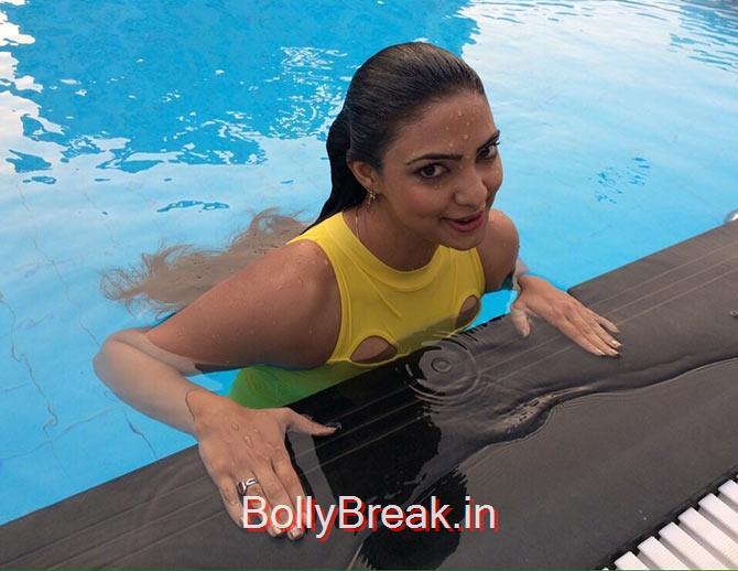 Pooja Banerjee Bikini Pics - Swim Team - 5 Pics-4084