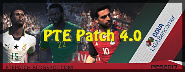 PES 2017 PTE Patch 2017 4.0